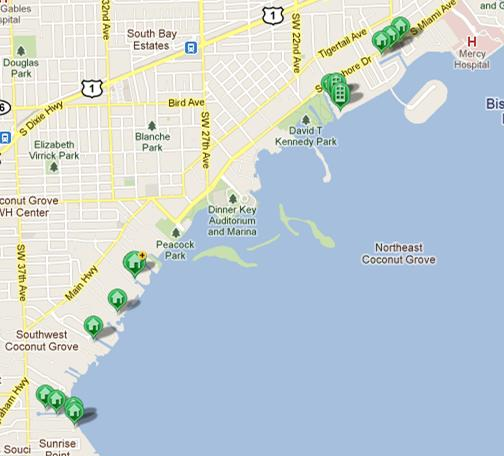 waterfront homes for sale in coconut grove