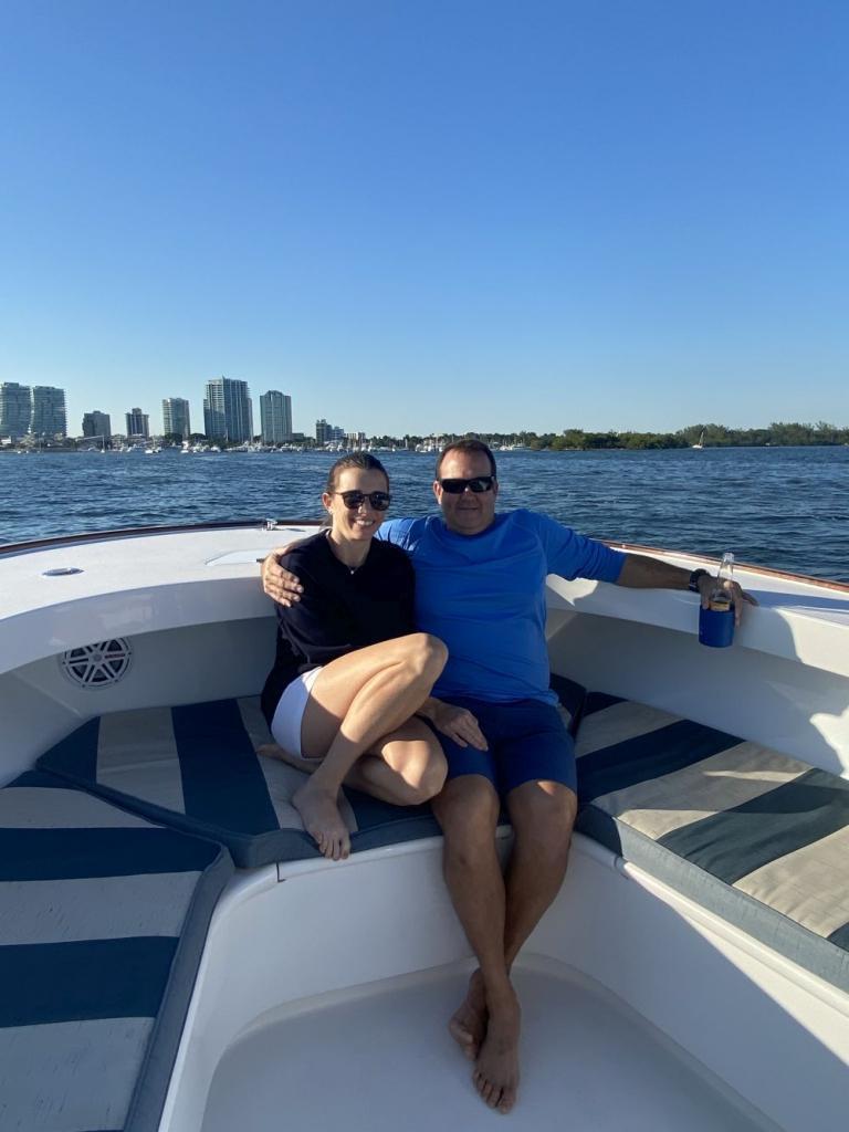Boating On BIscayne Bay