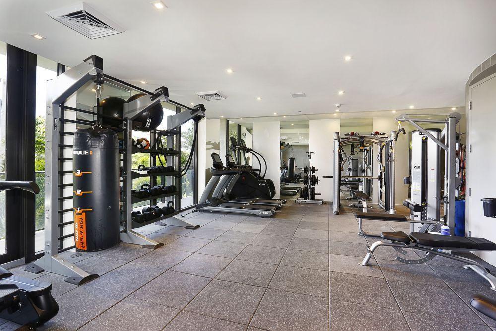 Gym at The Fairchild