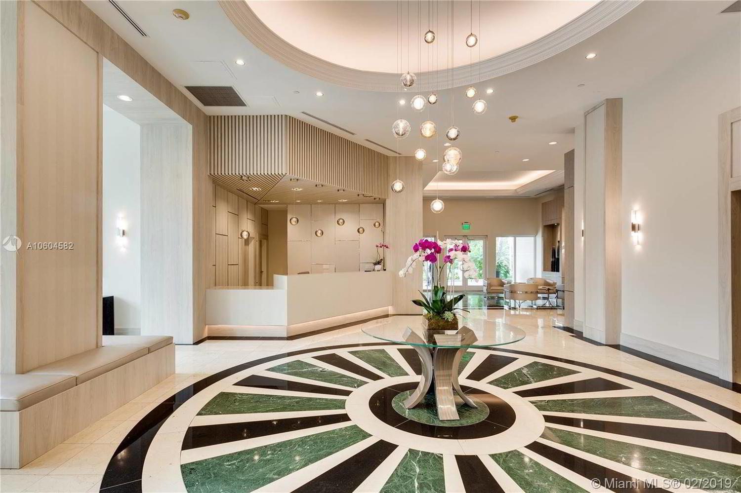 Lobby at Grove Hill Tower