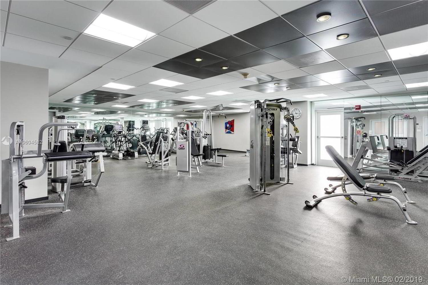 Gym at Grove Hill Tower