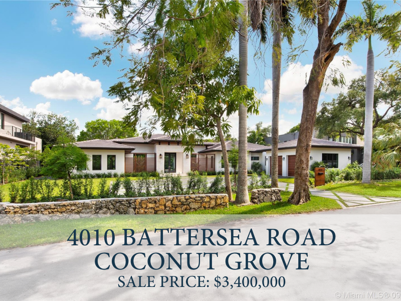 New Construction in Coconut Grove
