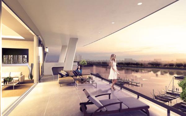 rendering Balcony