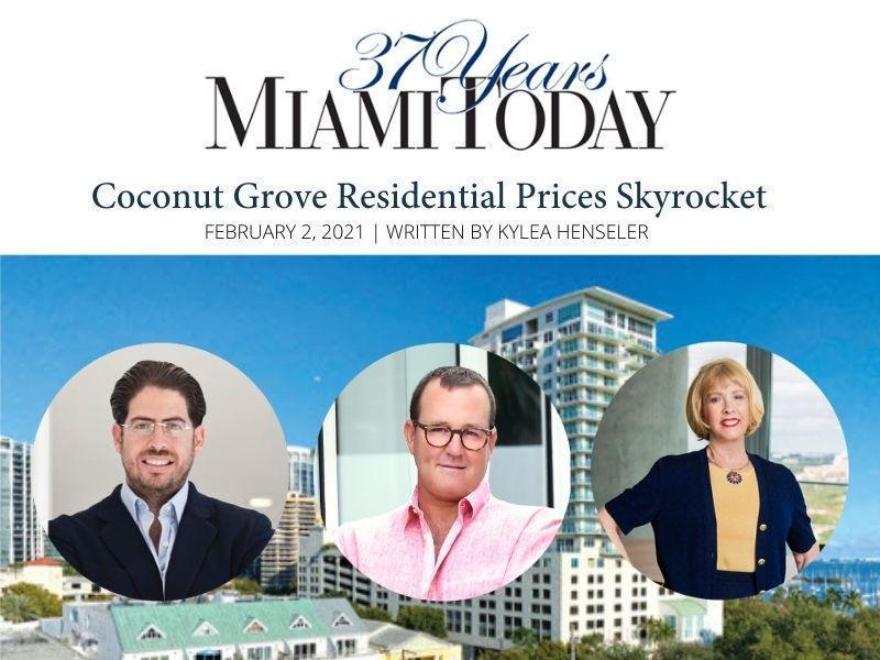 Miami Today Image with David Martin, Riley Smith and Charlotte Seidel