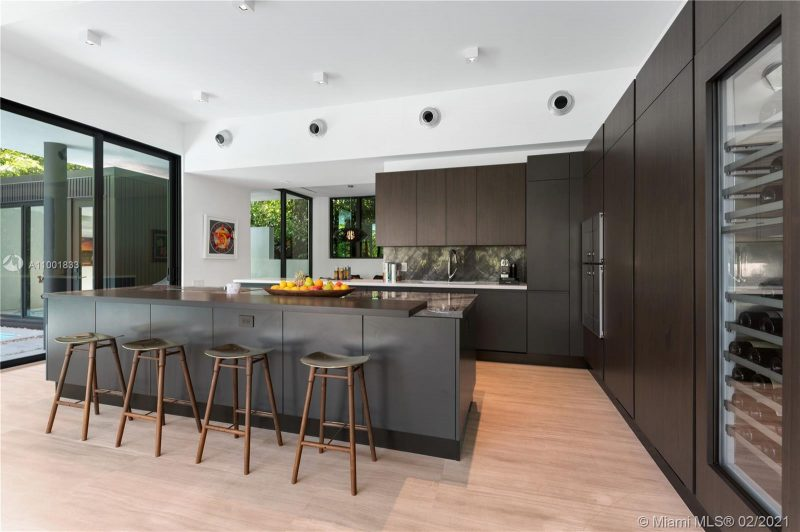 Kitchen of home in The Moorings
