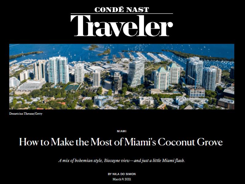 Conde Nast Travel Magazine