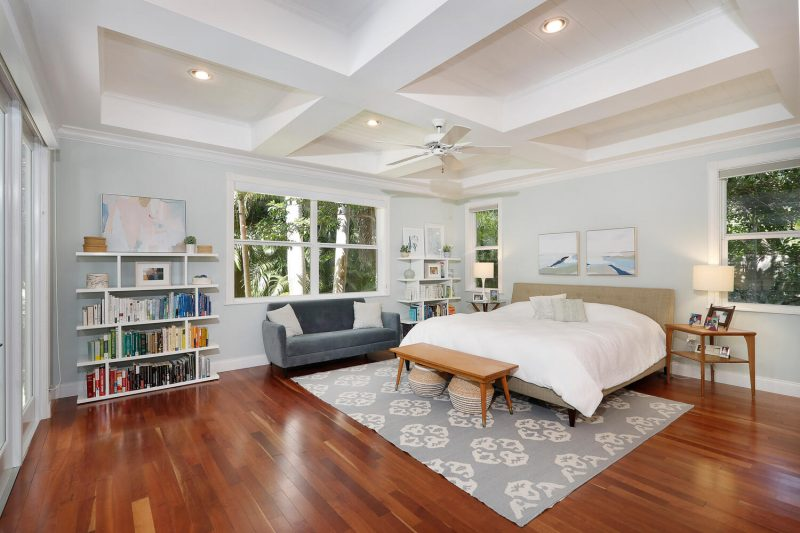 Master bedroom at 3010 Emathla Street, Coconut Grove