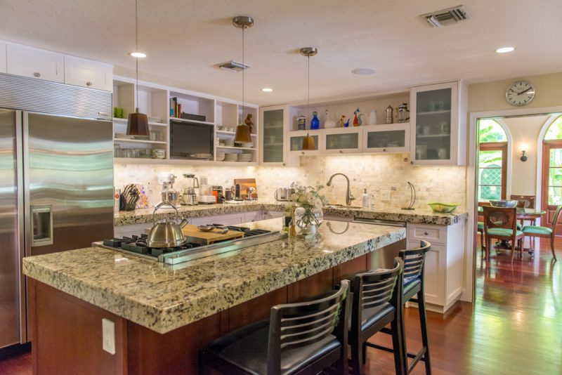 Kitchen at home in The Moorings