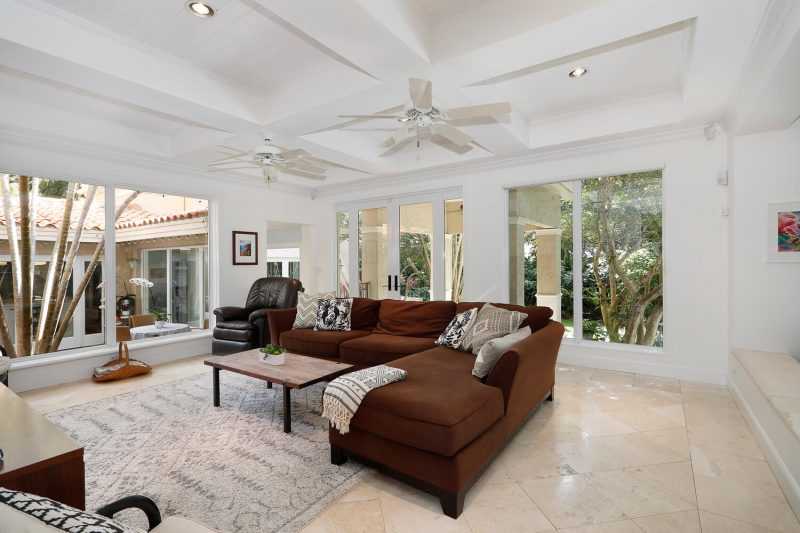 Family Room at 3010 Emathla Street, Coconut Grove